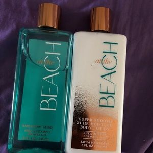 Bath and Body Works Body Lotion and Shower Gel Set